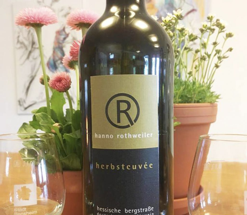 bergstrasse_roter riesling_Cuvee Hanno Rothweiler