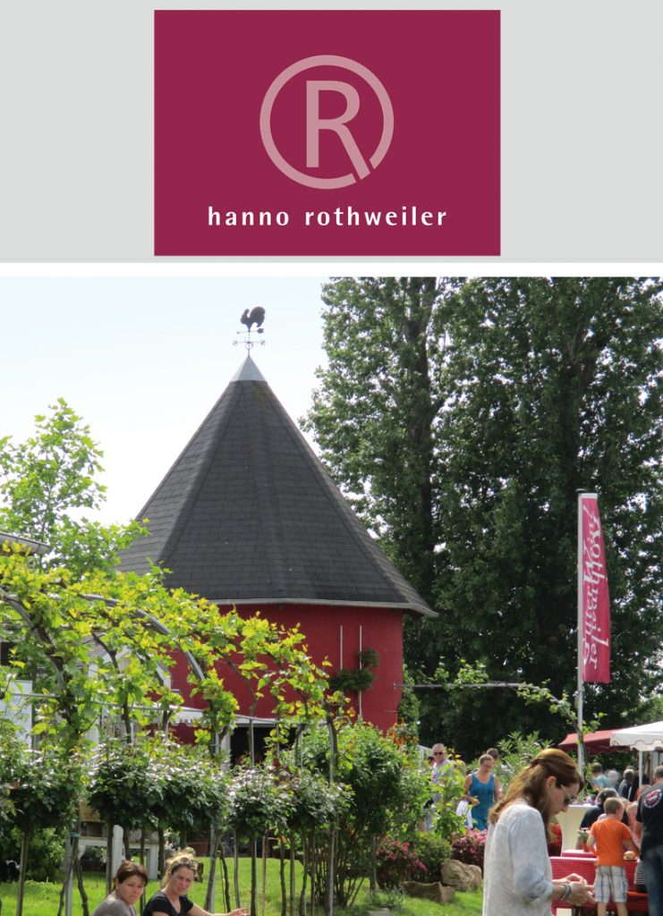 bergstrasse_roter riesling_Weingut Hanno Rothweiler mit Logo